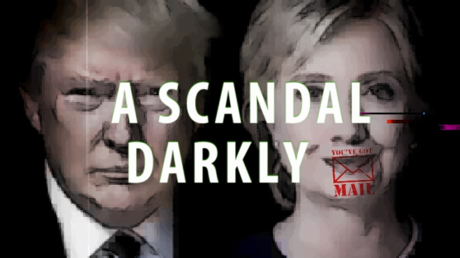 A SCANDAL DARKLY