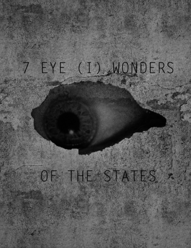 7 Eye (I) Wonders of the United States (Conspiracy theories & Mysterious structures)