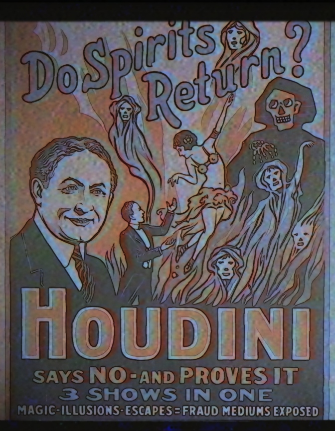 Houdini Debunked Séances