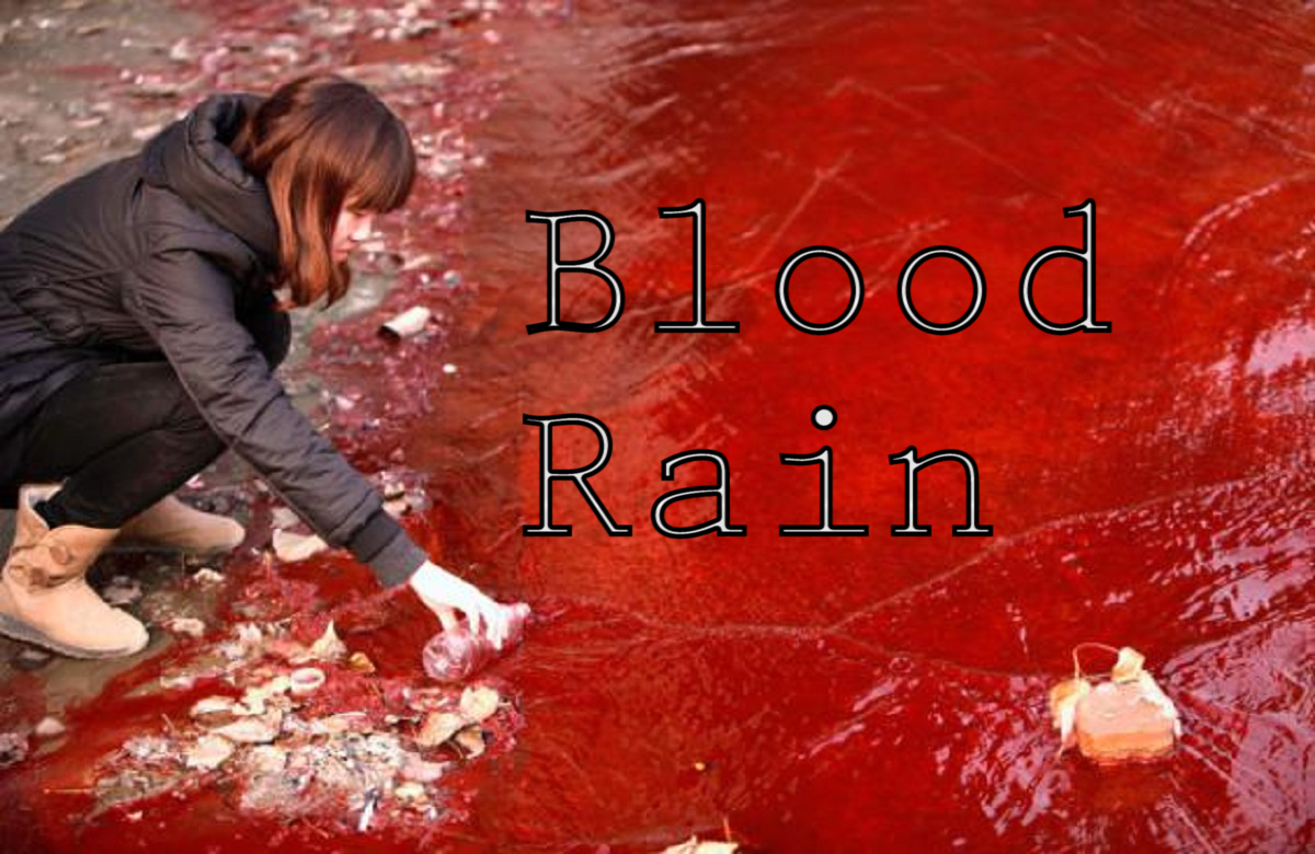 Blood Rain Biblical Symbolism Or An Act Of Science Project Astral