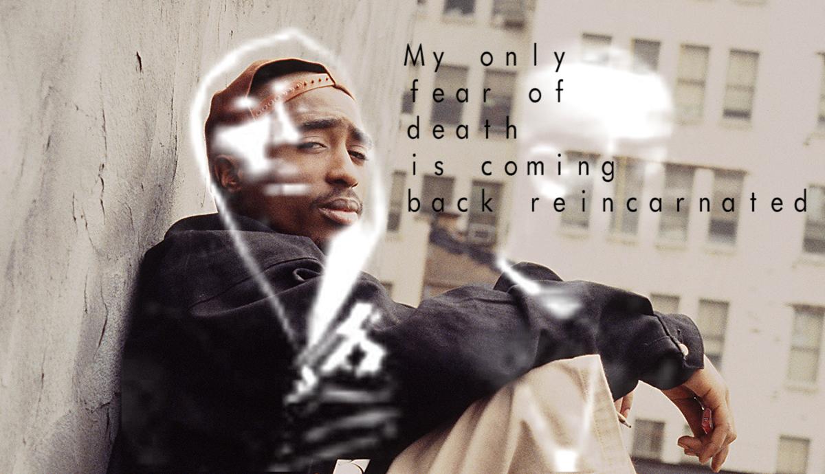 tupac writing