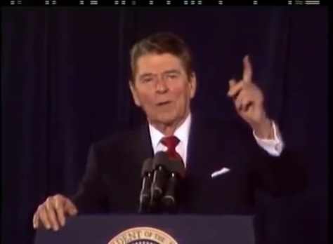 President ReaganThree Famous Alien Threat Speeches.00_02_02_12.Still003