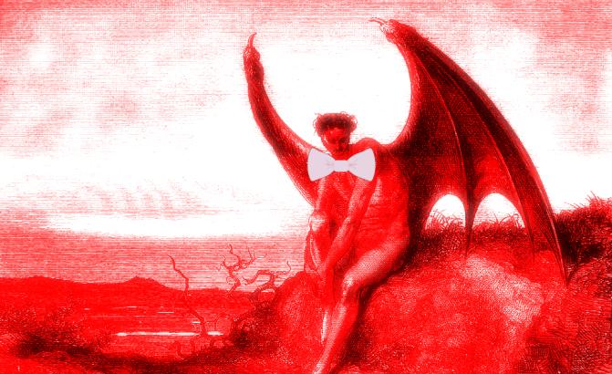 Satan In A Bow Tie